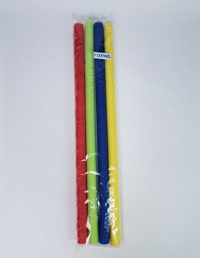 FixFind Multi Color 52 Inch Pool Swim Noodle 4 Pack