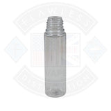 Chubby Gorilla 60ml Clear V3 Bottle with Natural Cap