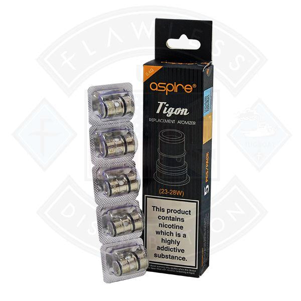 Aspire Tigon Replacement Atomizer (23-28W) 0.4 Ohms 5 Pack