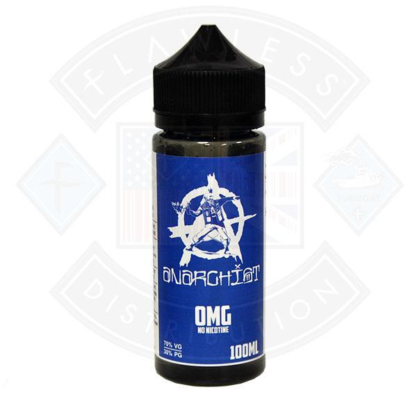 ANARCHIST BLUE 0MG 100ML SHORTFILL E-LIQUID