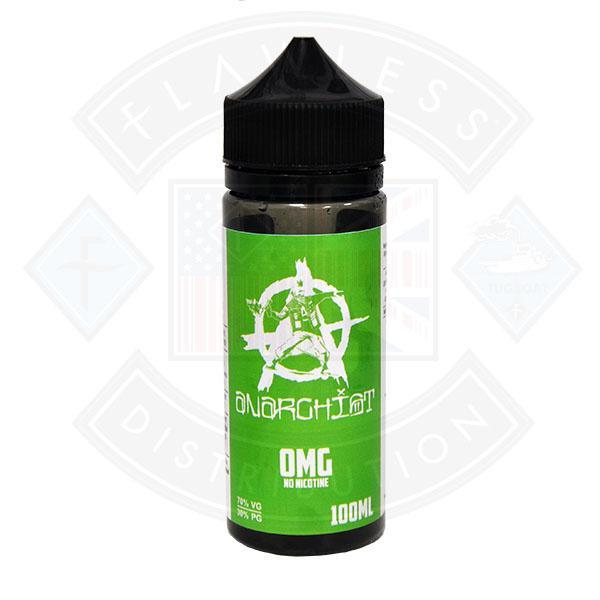 ANARCHIST GREEN 0MG 100ML SHORTFILL ELIQUID