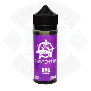 ANARCHIST PURPLE 0MG 100ML SHORTFILL E-LIQUID - Litejoy E-Cigarettes and Vaping products