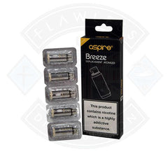 Aspire Breeze Replacement Atomizer Coils (5 pack) - Litejoy E-Cigarettes and Vaping products