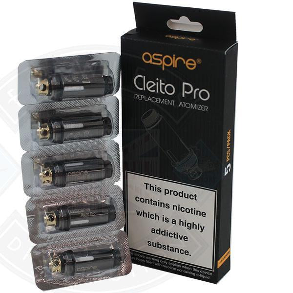 Aspire Cleito PRO Coils Replacement Atomizer 5pack