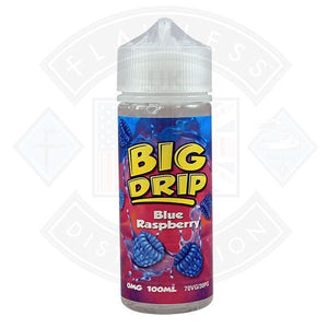 Big Drip Blue Raspberry 0mg 100ml Shortfill
