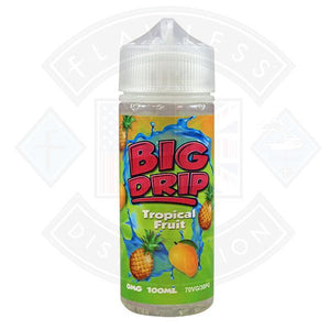 Big Drip Tropical Fruit 0mg 100ml Shortfill