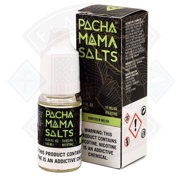 Pacha Mama Salts Honeydew Melon 10ml E Liquid
