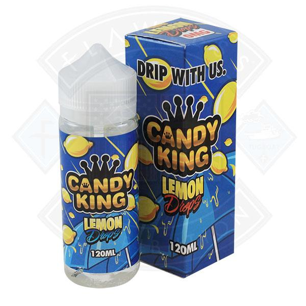Candy King Lemon Drops 0mg 100ml Shortfill