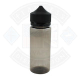 Chubby Gorilla 120ml Black Transparent V3 Bottle with Black Cap