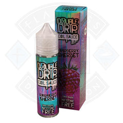 DOUBLE DRIP RASPBERRY SHERBERT 0MG 50ML SHORTFILL E-LIQUID - Litejoy E-Cigarettes and Vaping products