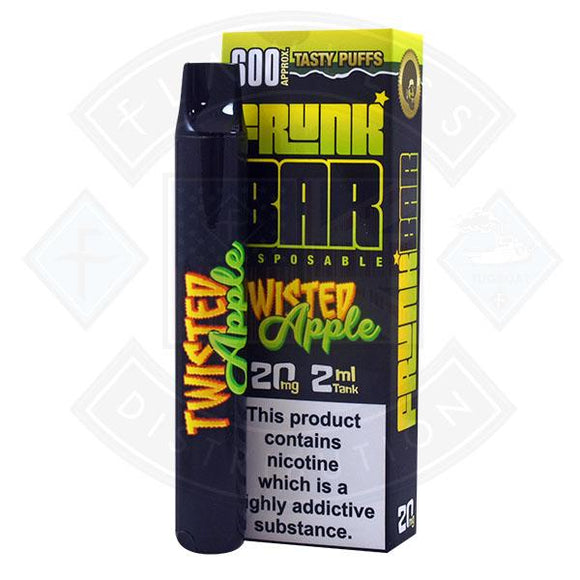 Frunk Bar Disposable Twisted Apple 20mg 2ml