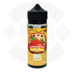 Vaper Treats Strawberry Cookie Butter 0mg 100ml Shortfill E-liquid