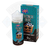French Dude 0mg 100ml Shortfill