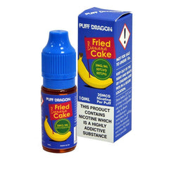 Fried Banana Cake by Puff Dragon TPD Compliant 10ml E-liquid