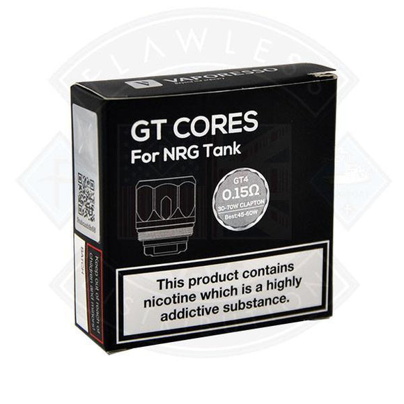 GT Cores for NRG Tank GT4 0.15ohm 30-70 Clapton