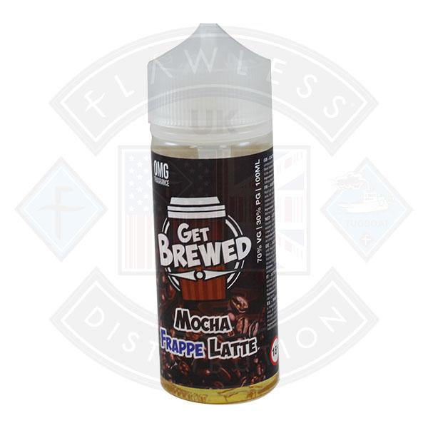 Get Brewed Mocha Frappe Latte 100ml 0mg shortfill e-liquid