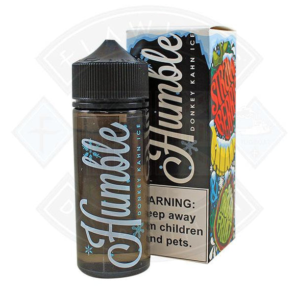 Humble - Donkey Khan Ice E liquid 0mg 100ml Shortfill