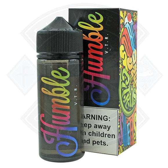 Humble - Vape the rainbow 0mg 100ml Shortfill E liquid