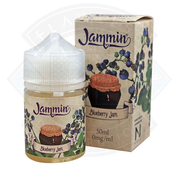 My Vapery Jammin - Blueberry Jam 50ml 0mg shortfill e-liquid