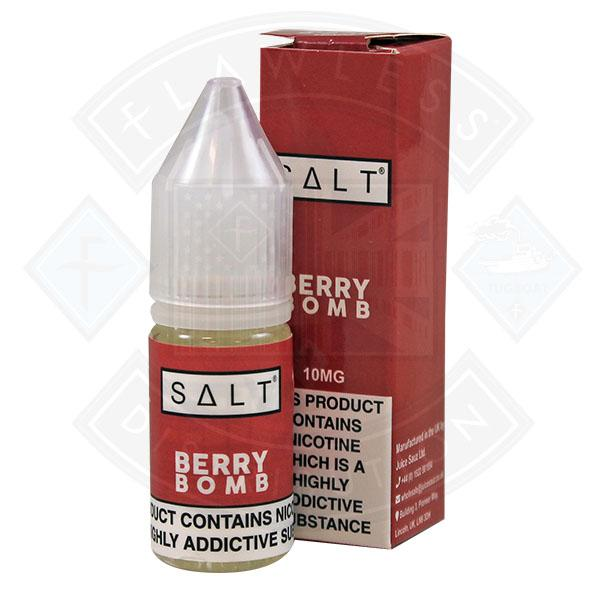 Juice Sauz Salt - Berry Bomb 10ml 10mg E-liquid