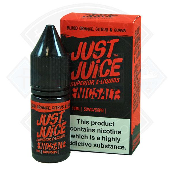Just Juice Blood Orange, Citrus Guava Nic Salt 10ml 11mg E-Liquid