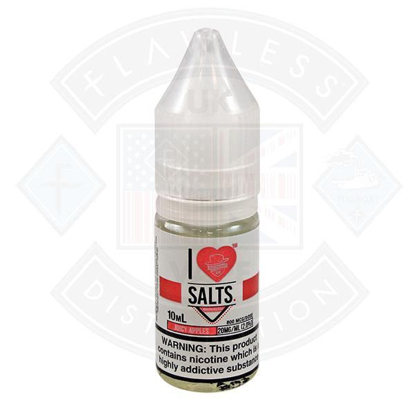 I love Salts Juice Apples 10ml 20mg by Mad Hatter Juice