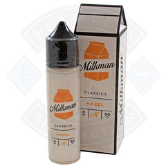 The Milkman Classics Hazel 50ml 0mg shortfill e-liquid