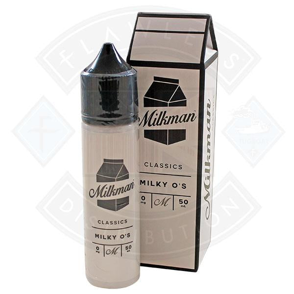 The Milkman Classics Milky O's 50ml 0mg shortfill e-liquid