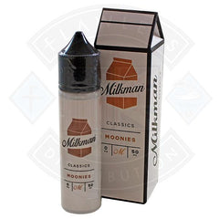 The Milkman Classics Moonies 50ml 0mg shortfill e-liquid