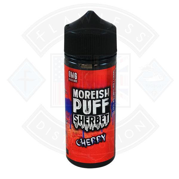 Moreish Puff Sherbet Cherry 0mg 100ml Shortfill E-liquid