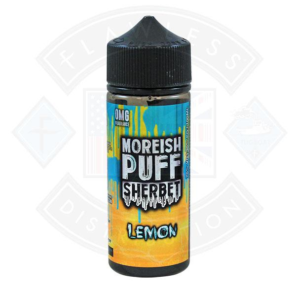 Moreish Puff Sherbet Lemon 0mg 100ml Shortfill E-liquid