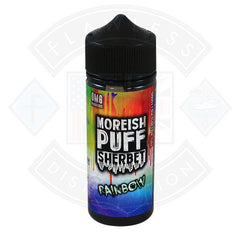 Moreish Puff Sherbet Rainbow 0mg 100ml Shortfill E-liquid