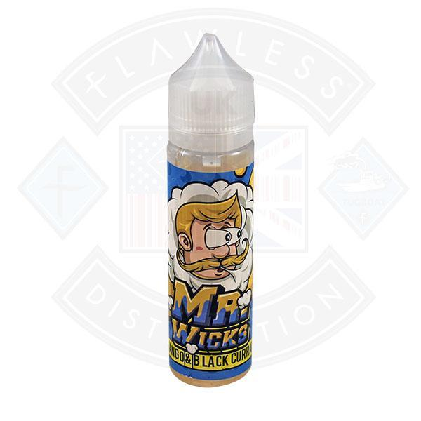 Mr Wicks Mango & Blackcurrant 0mg 50ml Shortfill e-liquid