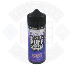 Moreish Puff Chilled Grape 0mg 100ml Shortfill E-liquid
