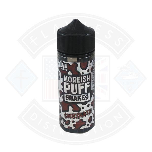 Moreish Puff Shakes Chocolate 0mg 100ml Shortfill E-liquid
