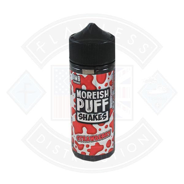 Moreish Puff Shakes Strawberry 0mg 100ml Shortfill E-liquid