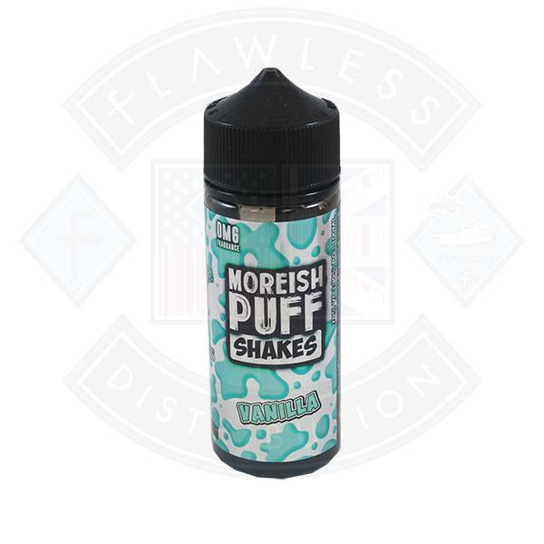 Moreish Puff Shakes Vanilla 0mg 100ml Shortfill E-liquid