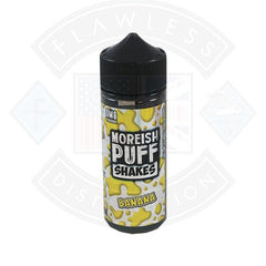 Moreish Puff Shakes Banana 0mg 100ml Shortfill E-liquid