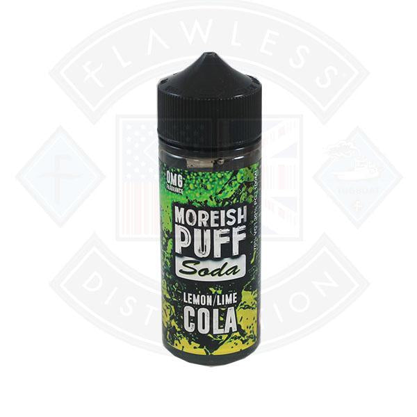 Moreish Puff Soda Lemon Lime Cola 0mg 100ml Shortfill E-liquid