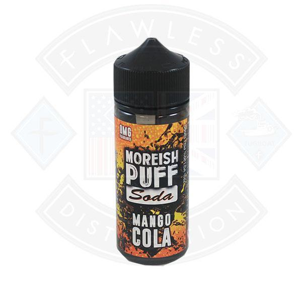 Moreish Puff Soda Mango Cola 0mg 100ml Shortfill E-liquid