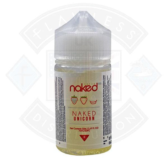 Naked - Naked Unicorn 0mg 50ml Shortfills