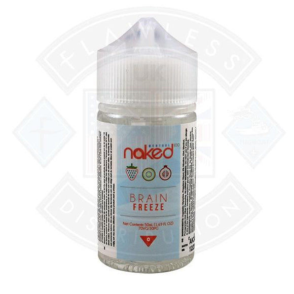 Naked - Brain Freeze 0mg 50ml Shortfills