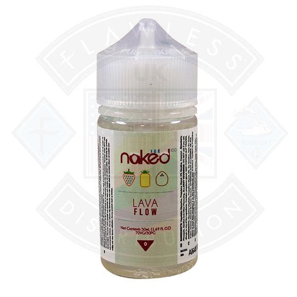 Naked - Lava Flow Ice 0mg 50ml Shortfill