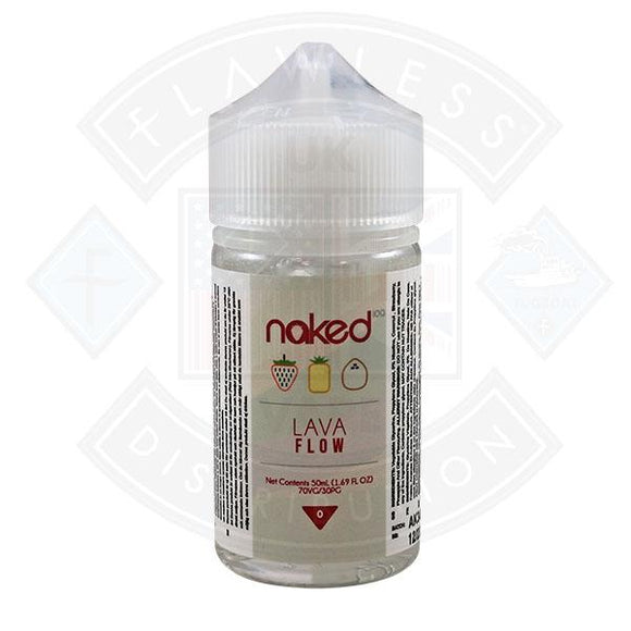 Naked - Lava Flow 0mg 50ml Shortfill