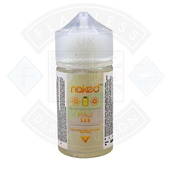 Naked - Maui Sun 0mg 50ml Shortfills