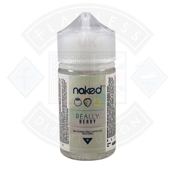 Naked - Really Berry 0mg 50ml Shortfills