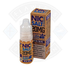 NIC SALT - BLUEBERRY SLUSH 20MG 10ML SHORTFILL E-LIQUID