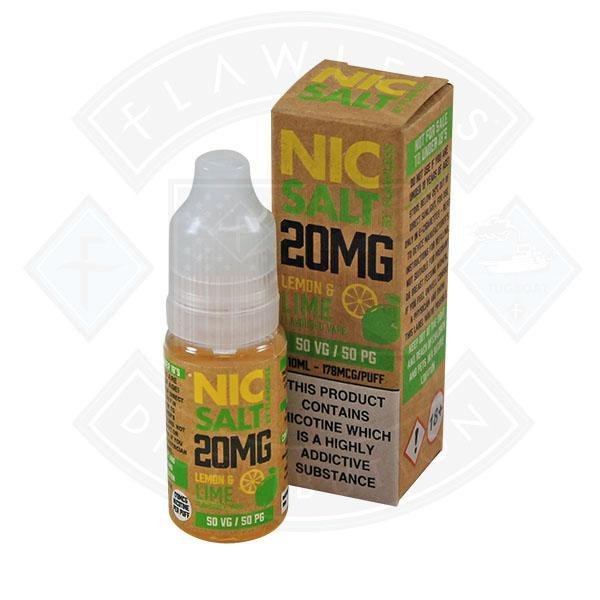 NIC SALT - LEMON & LIME 20MG 10ML E-LIQUID