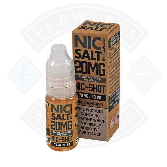 NIC SALT- NIC SHOT 20MG 10ML