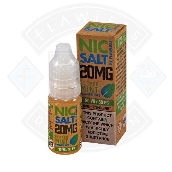 NIC SALT - PEPPERMINT 20MG 10ML E-LIQUID